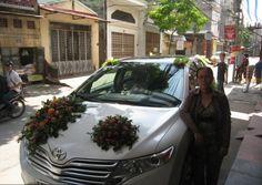 Trang trí xe cưới bằng hoa quả