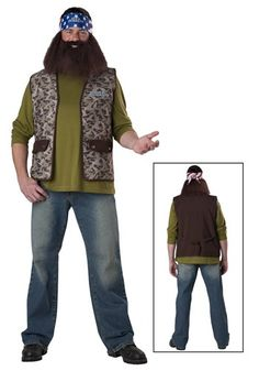 Willie Robertson Duck Dynasty Halloween Costumes