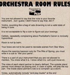 HAHA Mr. Patton NEEDS this!!!!! Love the violin and viola rules ;-) @Melina Martinez Hudak  @Julia Lanfersieck