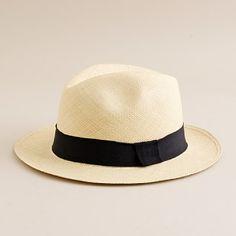Panama Hat: Always cool.