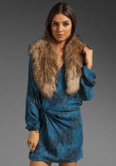 Raccoon Collar in Natural at Revolve Clothing - Free Shipping!
