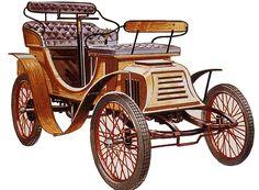 La Dansk 1899, cette ancienne automobile fut construite en 1899.