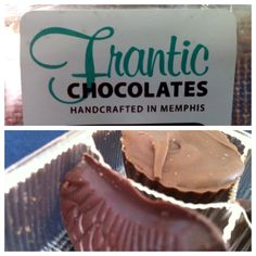 Made in Memphis: Frantic Chocolates - check out this article written about Frantic Chocolates peanut butter cups! You can buy them at the Trolley Stop or The Booksellers at Laurelwood. They make great presents.