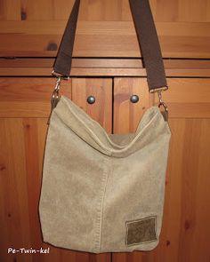 Pe-Twin-kel : creadienstag mit einer Chobe Tasche aus einer Cordhose