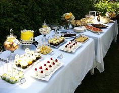 """Very cute """"not too baby themed"""" gender neutral baby shower.  Love everything about it!  Especially the food..."""