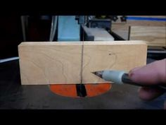 Scroll Saw Blade Alignment - YouTube