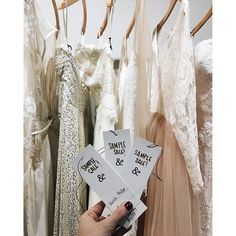 we've got some amazing finds on our sample racks at all three shops! need a gown quick?! want designer on a budget?! make an appointment today!