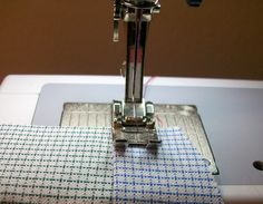 Feather's Flights {a creative, sewing blog}: How to Topstitch
