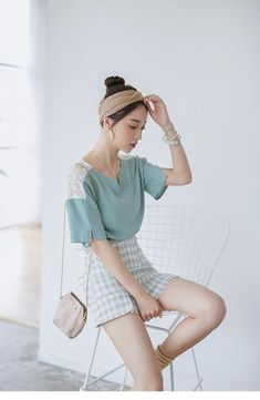 Korean fashion lace shirt - AddOneClothing - 1