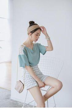 Korean fashion lace shirt - AddOneClothing - 1