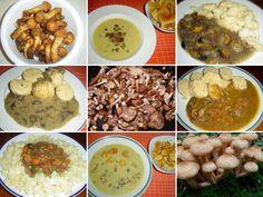 1_houbova-omacka-z-cerstvych-hub Cereal, Stuffed Mushrooms, Vegetables, Breakfast, Ethnic Recipes, Food, Stuff Mushrooms, Morning Coffee, Essen