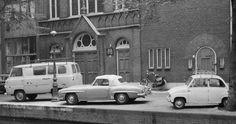 Ford Thames, Mercedes Benz #190SL Cabriolet, Goggomobil, Amsterdam 1963 | Flickr - Photo Sharing! Pic credit: https://www.flickr.com/photos/tuuur/7935787750/