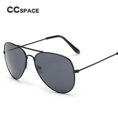 CCSPACE 19 Colors Classic Aviator Sunglasses Men Women Brand Designer Glasses Fashion Eyewear 100% UV Protection 45140