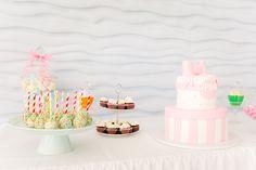Ρομαντική βάπτιση κοριτσιού σε ζωηρά χρώματα - EverAfter Romantic Girl, Vivid Colors, Cakes, Cake Makers, Kuchen, Cake, Pastries, Cookies, Torte