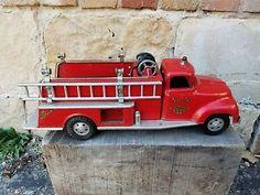 Vintage Tonka Fire Truck , Pumper --Original