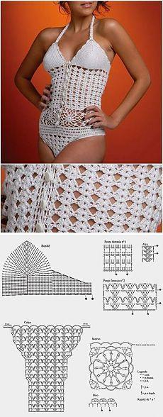 Colecciones de lencería crochet 50 modelos