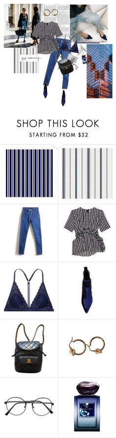 """""""petrichor"""" by la-rosy ❤ liked on Polyvore featuring WithChic, MSGM, Victoria's Secret, Kendall + Kylie, Chanel, Nikon and Giorgio Armani"""