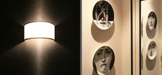 Textured wall covering: Osborne Little the place for animal skin inspired fabrics and wallpaper. Fornasetti and Mirrors for luxury finish. From our Chelsea design project