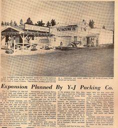 I always loved the smell of Y-J's! Coeur D'alene, Idaho, Paris Skyline, Vintage World Maps, Childhood, History, Live, Infancy, Historia