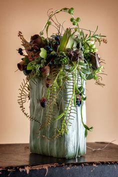 botanical purse, Art of Weddings, Françoise Weeks