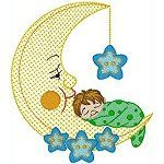 Slumberland -- perfect embroidery designs to decorate baby's room