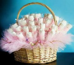 15 Hermosas ideas para un baby shower rosa Beautiful ideas in pink tones to prepare a baby shower fu Ballerina Birthday, Girl Birthday, Birthday Parties, Tea Parties, Baby Boy Shower, Baby Shower Gifts, Party Favors, Party Candy, Silvester Party