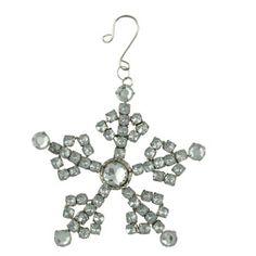 Rhinestone Snowflake Ornament | Bethany Lowe