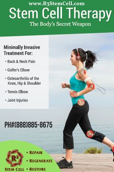 Millions of people are dealing with the body pain and stiffness right now. In this situation stem cell Chicago is offering best regenerative medicine (stem cell treatment. For a free consultation call us at What Is Stem, Cord Blood Banking, Stem Cell Therapy, Regenerative Medicine, Tennis Elbow, Knee Pain, Pain Management, Stem Cells, Back Pain