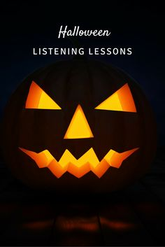 Listening lessons for Halloween