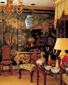 William Eubanks+ eclectic mix + chinoiserie