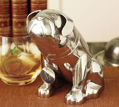 The Bulldog Cocktail Shaker by Pottery Barn.