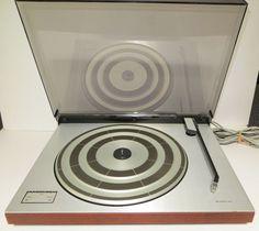 Bang & Olufsen Beogram 2402 T5712 Turntable Record Player w/ MMC 20E Cartridge  #BangOlufsen
