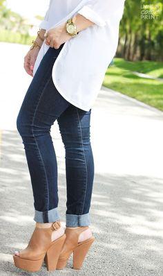 Chunky Wedge/Heels
