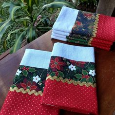 Hand Towels, Tea Towels, Christmas Stockings, Christmas Gifts, Towel Crafts, Art Decor, Patches, Pillows, Sewing
