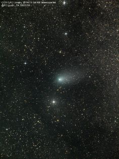 Comet C/2013 R1 Lovejoy On 02/04/2014  Taken by rolando ligustri on April 2, 2014 @ from New Mexico ITelescope.net