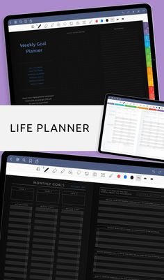 This Planner is designed to be used with any PDF annotation app on your ipad or any tablet device. Improve the quality of your life and get started reaching your goals with an easy-to-use digital planning and task tracking system. It comes use with Notability, Xodo, Noteshelf and Goodnotes for your iPad or Android tablet. #weekly #planner #goal #journal #week Weekly Planner Template, Monthly Planner, Goals Planner, Life Planner, Goals Template, Weekly Goals, Tracking System, Goal Journal, How Are You Feeling