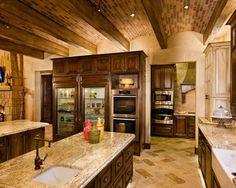Mediterranean Kitchen Austin Texas Pacific Homes Style Dinning
