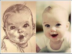 Gerber baby and lookalike Stacy G. Baby Pictures Hd, Gerber Baby, Baby Kind, Interesting History, Look Alike, Baby Cards, Cute Kids, Memories, Mom
