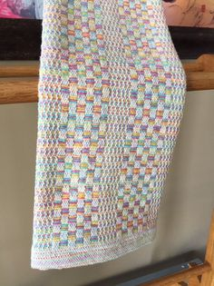Items similar to Handwoven Cotton Kitchen Towel by GrumpyOleDan on Etsy Inkle Weaving, Weaving Art, Weaving Patterns, Hand Weaving, Pillow Texture, Weaving Process, Cotton Towels, Linen Fabric, Couture