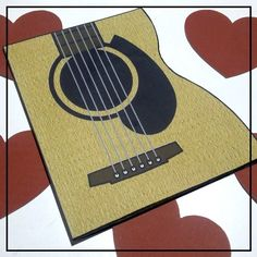 """DIY: Cartão """"Você tocou meu coração"""""""