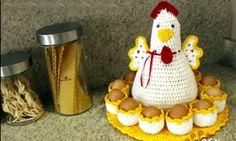 Häkeln: wunderbare gehäkelte Unterstützung für Eier