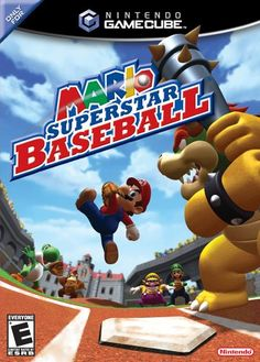 Get Mario Superstar Baseball for the Nintendo Gamecube now on Sale. This game also plays on the Wii! Gamecube Games, Wii Games, Nintendo Games, Games To Play, Xbox One, Playstation, Game Info, Mario And Luigi, Mario Brothers