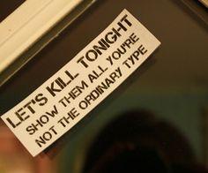 Let's Kill Tonight - Panic At the Disco