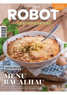 Teleculinária especial, robot de cozinha nº 112 (maio 2017) 112, Make It Simple, Breakfast, Ethnic Recipes, Food, Cover, Cooking, Recipe Journal, Illustrated Recipe
