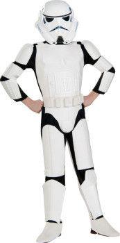 Star Wars - Deluxe Stormtrooper Boy's Costume