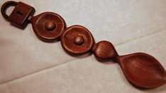 Welsh love spoons, love tokens said to symbolise a man's desire to court a woman; the carved symbols have specific meanings (click through for more).