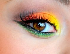 Yellow, green