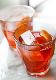 An Italian take on the classic Negroni, lightened up with prosecco - the ultimate refreshing cocktail.