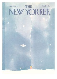 The New Yorker Cover - January 2, 1978 Giclee Print by R.O. Blechman at Art.com