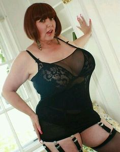 Women lingerie voluptuous older